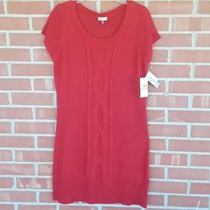 NWT l.e.i. sweater dress, XXL